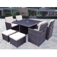 China Outdoor furniture wicker dinning table--9064 wholesale