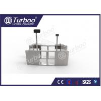 China Pedestrian Optical Barrier Turnstiles / Swing Gate Turnstile For Access Control wholesale