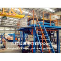 China Air Clamping 20mm Copper Rod Continue Casting Machine Complete Line With Touch Screen wholesale