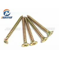 Quality DIN7505 Particle board Screws With Cross Recess Type Z , Countersunk Head for sale