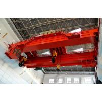 China Heavy Duty Double Beam Electric Overhead Travelling Cranes For Huge Machine Assembly wholesale