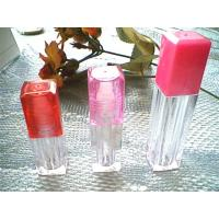 China JULUNG transparent square Shaped Perfume plastic Bottles For Lip Gloss / Personal Care on sale