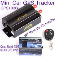 Buy cheap GPS103B Remote Control Car Vehicle Truck GPS Tracker Real Time GPS Tracking Locator System W/ Cut-off oil & power by SMS from wholesalers