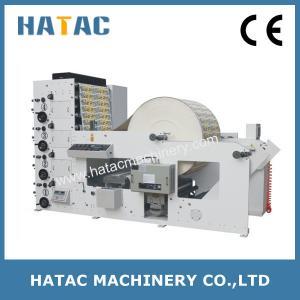 China Automatic Label Flexo Printing Machine,Vinyl Sticker Printing Machinery,ECG Paper Roll Printing Machine on sale
