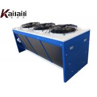 China Chinese Manufacturer V Type Air Cooled Condenser for Refrigetation Unit on sale