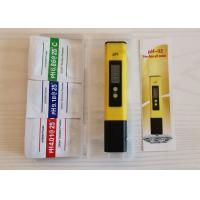 China Handheld PH Meter Tester Pen Automatic Calibration 1.5V Durable Battery wholesale