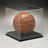 Basketball Acrylic Display Stand Case For Sport Equipment Advertising