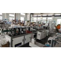 China Disposable Automatic Face Mask Making Machine / N95 Kn95 Fpp2 Mask Making Equipment wholesale