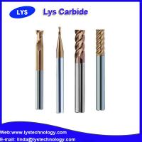 China 4 Flutes Solid Carbide Ball Nose Milling Cutters side carbide cutter wholesale