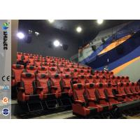 China Large Screen 4D Cinema Equipment With Special Effects And Speaker wholesale