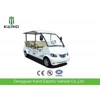 Buy cheap 4 Wheel Left Hand Drive 48V Electric Sightseeing Car For Amusement Parks from wholesalers