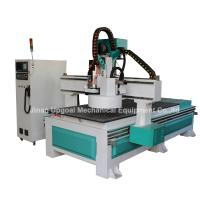 Quality Tool Changing CNC Wood Router with 12 Pcs Tools Auto Changing/9.0KW Spindle for sale