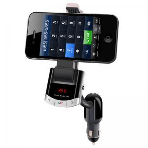 China Bluetooth FM Transmitter Car Kit phone Holder wholesale