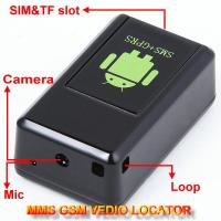 Quality GF-08 GSM MMS Video Photo Transmit Camera Recorder GPS Tracker Aduio Listening Bug 3-in-1 for sale