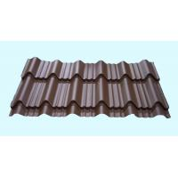 China Light Weight Metal Roofing Sheets Waterproof Glazed Tile Shaped wholesale