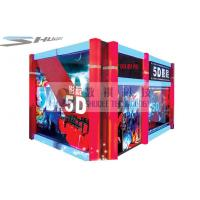 China Mobile 5D Cinema Simulator With Audio System And Polarized Glasses wholesale