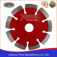 China 115mm Laser Diamond Concrete Saw Blades for Fast Cutting Reinforced Concrete wholesale