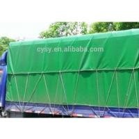 China 1000D*1000D PVC Truck Cover With Eyelet -30~70 Temperature Resistance wholesale