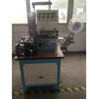 China Automatic High Speed Ultrasonic Automatic Labeling Machine For Ribbon , Belt Cutting wholesale