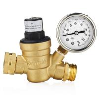 China Air Separation Plant Oxygen Plant Water Adjustable Brass Pressure Adjust Valve wholesale
