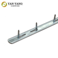 China best factory price durable sofa iron metal tack strip with PVC cover wholesale
