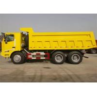 China 70 Tons HOWO Mining Tipper Dump Truck 6X4 371HP High Strength Steel Cargo Body on sale
