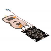 China Qi Wireless Charger PCBA Circuit Board A6 3 Coils USB Output For Samsung wholesale