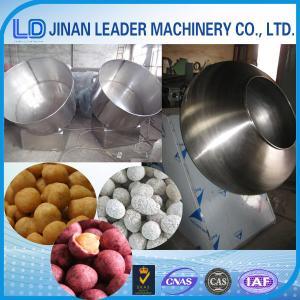 China sugar coating machine,factory price automatical peanut sugar coating pan machine wholesale