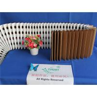 Quality High Performance Pleated Filter Media Folded For Green Spray Cabinets for sale