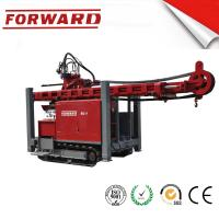 China Crawler Mounted Hydraulic Mud / Water Borehole Drilling Rig 420 Mm Maximum Diameter Drilling Hole wholesale