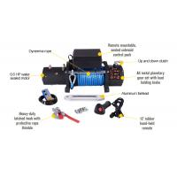 12000lbs 12v electric auto winch with synthetic rope