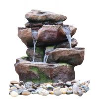 China Aquaria Backyard Decorative Water Fountains For Home Easy Install wholesale