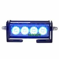 Buy cheap LED warning bars police car LED strobe light beacon 2W DC12V with holder for car from wholesalers