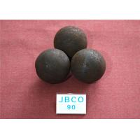 China D90mm Grinding Steel Balls High Core Hardness 59-60hrc with Round Steel Bar Material wholesale