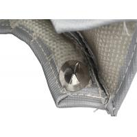 Quality 8cm Width Heat Insulation Titanium Turbo Blanket With Stainless Steel Mesh Lined for sale