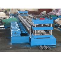 China 2 Waves Highway Guardrail Roll Forming MachineFually Automatic Control by Panasonic PLC wholesale