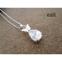 China Fashion Jewelry 925 Sterling Silver Gemstone Pendant with OPP Bag W-VB1030 wholesale