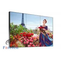 China Commercial Advertising 4k Multi Monitor Wall , 1 X 3 Video Wall LCD Screens 16.7 M Color wholesale