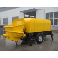 China 50m3/h Diesel Trailer Mounted Portable Concrete Pump Concrete trailer pump wholesale