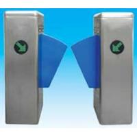 China Flap barrier 304 stainless steel security gate barrier with in-built alarm system wholesale