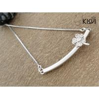 China Fashion Jewelry 925 Sterling Silver Necklace with Zircon W-VD189 wholesale