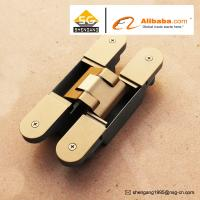 China Zinc Alloy 3D Adjustable Concealed Hinge / Invisible hinge For Wooden Doors wholesale