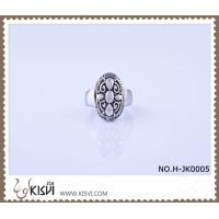 China 2012 hot selling 316l stainless steel ring with black enamel H-JK0005 wholesale