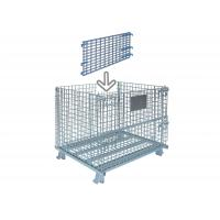 China Standard Collapsible Wire Container Industrial Wire Bins 30 Inch Wide X 28 Inch High wholesale