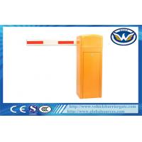 China Shopping Mall Parking Lot 3S / 6S Electric Barrier Gate Arms with Double Limit Switch wholesale