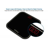 China Huge Wide Screen Digital Body Weight Scale With AAA Battery Power Supply wholesale