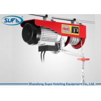 Quality PA600 Electric Wire Hoist 110V - 220V Working Voltage With Monorail Trolley for sale
