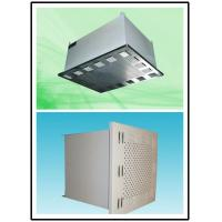 China Air Conditioning HEPA Air Blower Filter 1500 m³/h Rated Air Cleanroom Products wholesale