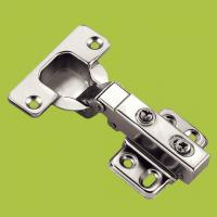China free samples cabinet hardware cold-rolled steel hinge with Nickel finish wholesale