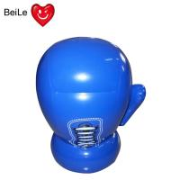 China Inflatable blue boxing glove for kids on sale